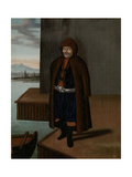 Man from the Island of Patmos Giclée-Premiumdruck von Jean Baptiste Vanmour