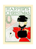 Harper's Christmas Prints by Edward Penfield