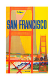 San Francisco Posters by David Klein