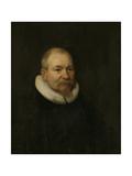 Portrait of Samuel Van Lansbergen, Remonstrant Minister in Rotterdam Prints by Bartholomeus Van Der Helst