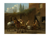 Muleteers at an Inn Posters by Karel Dujardin