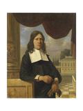 Nicolaes Eichelberg Haarlem Merchant, Husband of Helena Van Der Schalcke Prints by Job Adriaensz Berckheyde