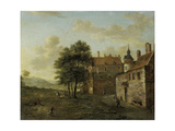 A Country House Prints by Jan Van Der Heyden
