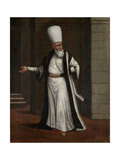 Janissary Aga, Commander-In-Chief of the Janissaries Giclée-Premiumdruck von Jean Baptiste Vanmour