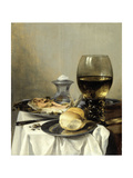 Still Life with a Salt Prints by Pieter Claesz