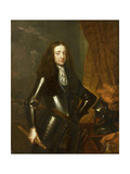 Portrait of Willem III, Prince of Orange and Since, King of England Prints by Caspar Netscher
