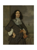 Portrait of Jan Van Nes, Vice-Admiral of Holland of West-Friesland Prints by Ludolf de Jongh