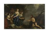 Odysseus and Nausicaa, Joachim Von Sandrart Posters by Joachim Von Sandrart