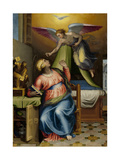 Annunciation to the Virgin Art by Marcello Venusti