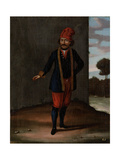 Man from the Island of Kithnos (Thermia) Giclée-Premiumdruck von Jean Baptiste Vanmour