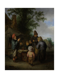 The Quack Prints by Adriaen Van Ostade