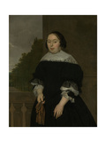 Portrait of Aletta Van Ravensberg, Wife of Jan Van Nes Poster by Ludolf de Jongh