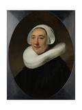 Portrair of Haesje Jacobsdr Van Cleyburg Print by  Rembrandt van Rijn