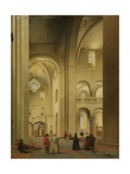 Transept of the Mariakerk in Utrecht Prints by Pieter Jansz Saenredam
