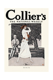 Collier'S, the National Weekly, the First Tee Prints by Edward Penfield