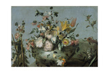 Flowers Poster by Francesco Guardi
