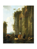 Ruins in Italy Posters by Nicolaes Pietersz. Berchem