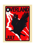 Overland, July Posters by Maynard Dixon