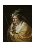 A Shepherdess Art by Paulus Moreelse