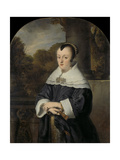 Maria Rey. Wife of Roelof Meulenaer Art by Ferdinand Bol