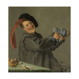 Merry Drinker (Jolly Toper) Prints by Judith Leyster