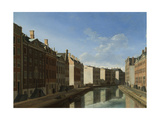 Golden Bend in the Herengracht, Amsterdam Prints by Gerrit Adriaensz Berckheyde