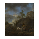 Farrier Prints by Philips Wouwerman