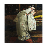 Girl in a White Kimono Art by George Hendrik Breitner