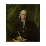 Portrait of Pieter Meijer, Publisher and Bookseller in Amsterdam Print by Hendrik Pothoven