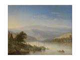 Rhine Near Andernach Prints by Herman Saftleven