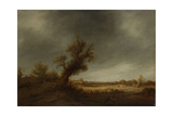 Landscape with an Old Oak Prints by Adriaen Van Ostade
