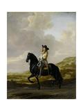 Pieter Schout on Horseback Poster by Thomas de Keyser