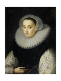 Portrait of Hortensia Del Prado (Died) Prints by Gortzius Geldorp