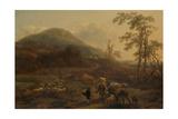 Three Droves Prints by Nicolaes Pietersz. Berchem
