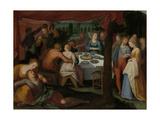 A Nocturnal Banquet, Otto Van Veen Poster von Otto van Veen