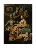 Musical Company Prints by  Rembrandt van Rijn