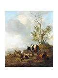 Landscape with Animals Posters by Willem Romeyn
