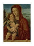 Madonna and Child, Circle of Giovanni Bellini Art by Giovanni Bellini