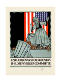 Czechoslovaks for Hoover's Children's Relief Committee Prints by Vojtech Preissig