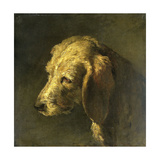 Head of a Dog Posters by Nicolas Toussaint Charlet