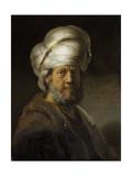 Man in Oriental Dress Prints by  Rembrandt van Rijn