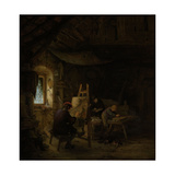 Painters Studio Prints by Adriaen Van Ostade