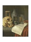 Vanitas Still Life, B. Schaak. Art by B. Schaak