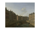 The Bend in the Herengracht in Amsterdam Prints by Gerrit Adriaensz Berckheyde