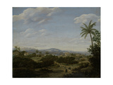 Brazilian Landscape Art by Frans Jansz Post
