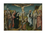 Christ on the Cross Prints by Cornelis Engebrechtsz