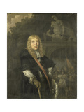 Portrait of an Officer of the Leiden Civic Guard Kunstdruck von Domenicus van Tol