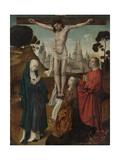 Crucifixion Poster by Cornelis Engebrechtsz