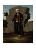 Man from the Island of Mykonos Giclée-Premiumdruck von Jean Baptiste Vanmour