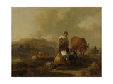 Italian Landscape Prints by Nicolaes Pietersz. Berchem